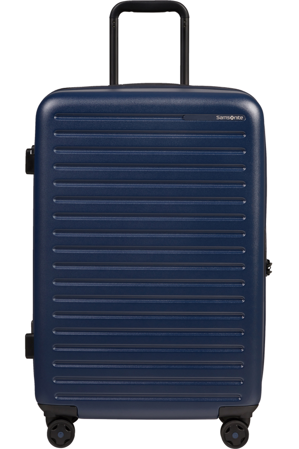 Samsonite Stackd Spinner 68cm  Fächer Navy