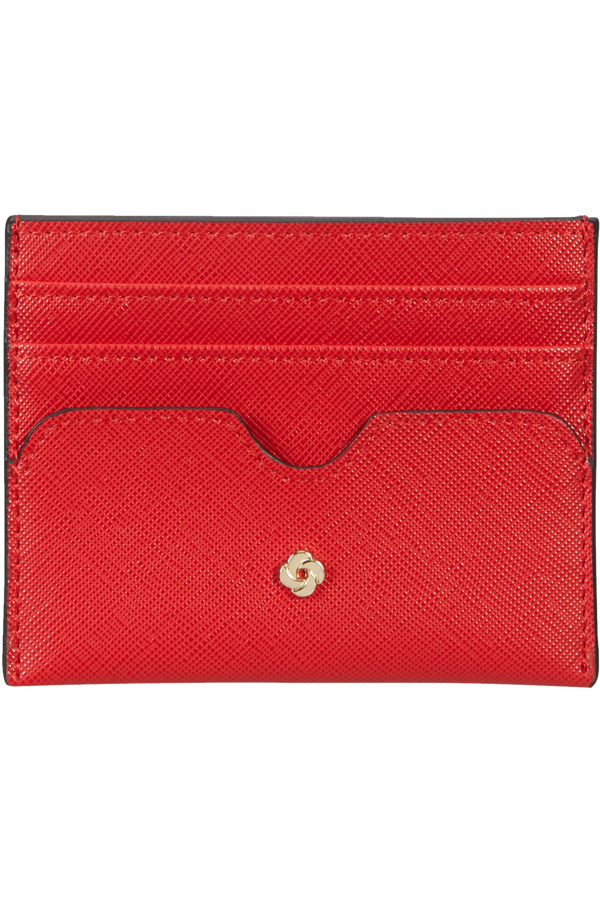 Samsonite Wavy Slg 337 - 6 Credit Card Holder  Classic Red