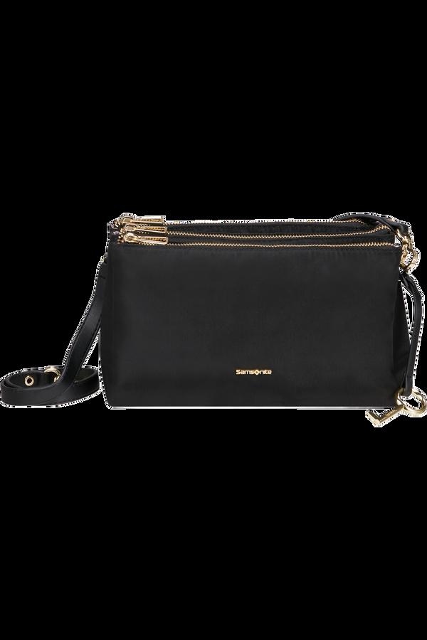 Samsonite Skyler Pro Horizontal Shoulder Bag 3 Comp S  Schwarz