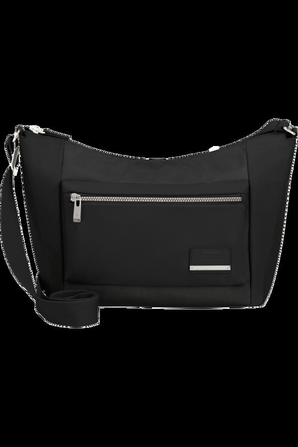 Samsonite Openroad Chic Shoulder Bag + 2 Pkts M  Schwarz