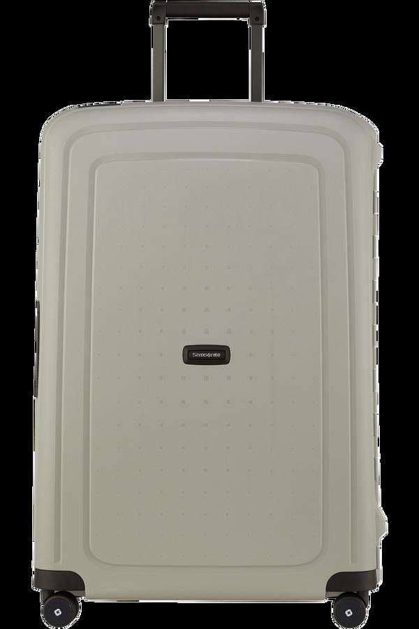 Samsonite S'cure Eco Spinner Post Consumer 75cm Green Grey