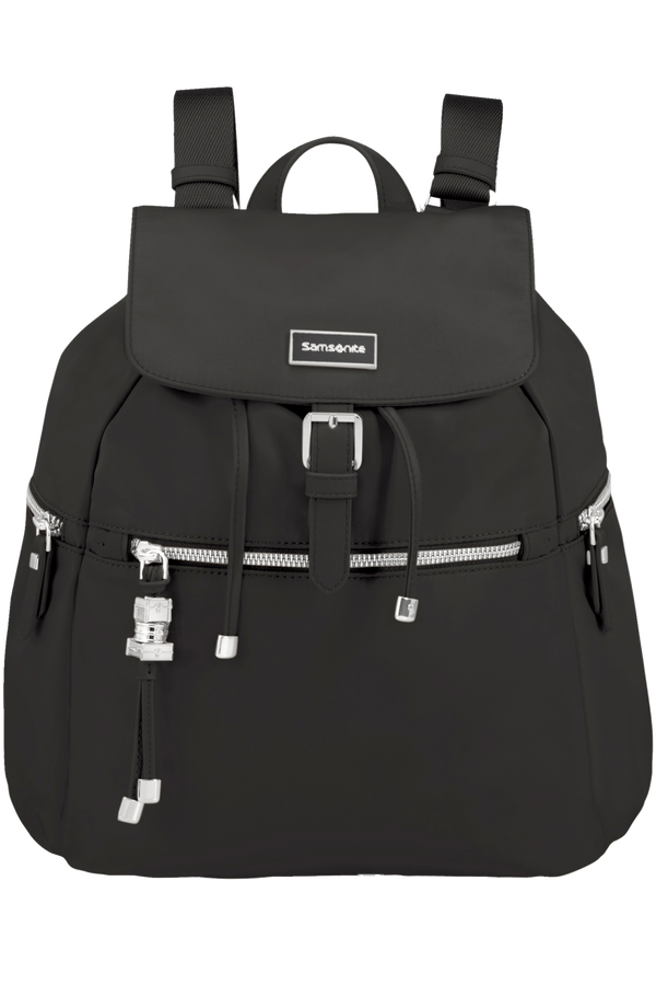 Samsonite Karissa Backpack 3 Pockets + 1 Buckle Schwarz