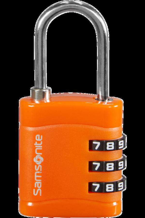Samsonite Global Ta Combilock 3 dial light Orange