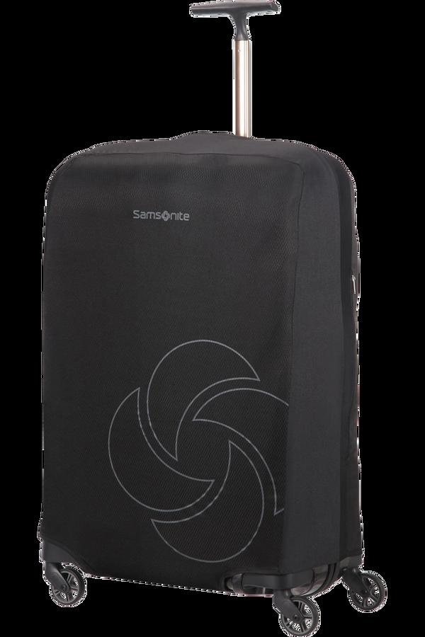 Samsonite Global Ta Foldable Luggage Cover M Schwarz