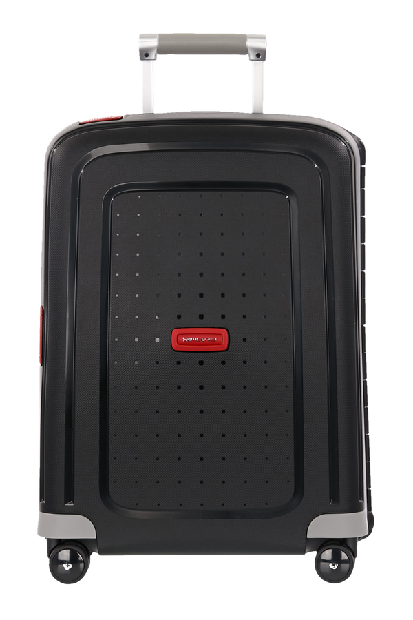 Samsonite S'Cure Spinner 55cm  Black/Crimson Red