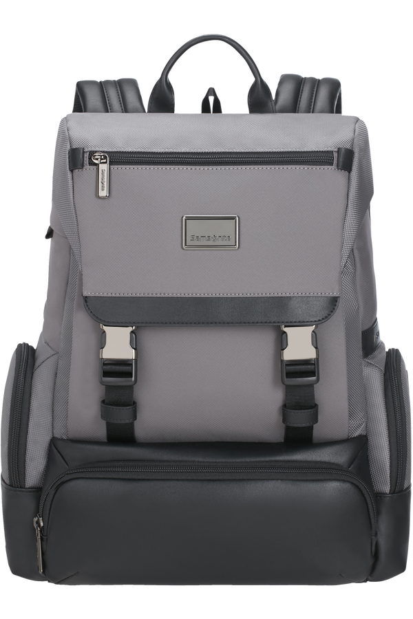 Samsonite Waymore Laptop Backpack Flap  15.6inch Grau