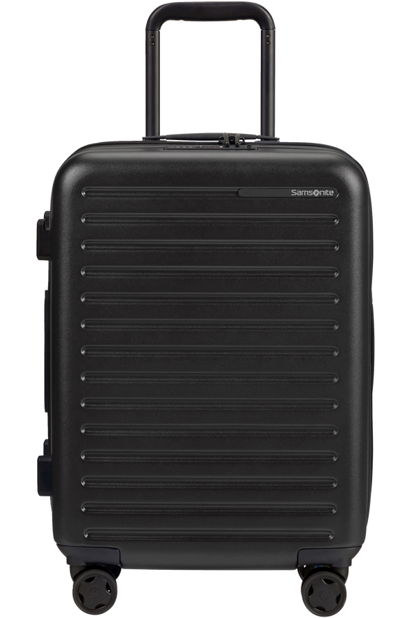 Samsonite Stackd Spinner Expandable 55cm  Schwarz