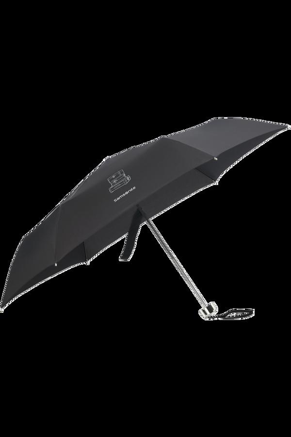 Samsonite Karissa Umbrellas 3 Sect. Ultra Mini Flat  Schwarz
