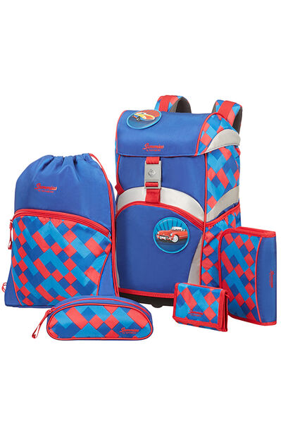 Ergonomic Backpack Rucksack Funky Blue