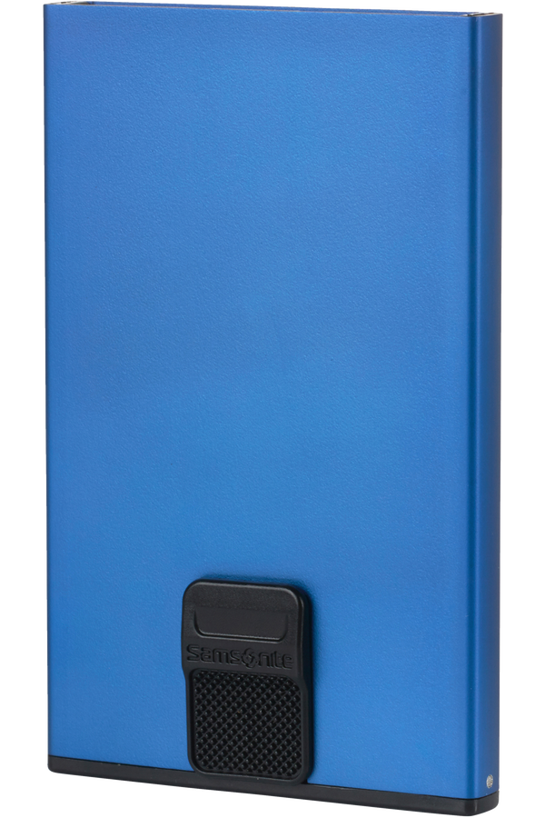 Samsonite Alu Fit 201 - Slide-up Case  True Blue