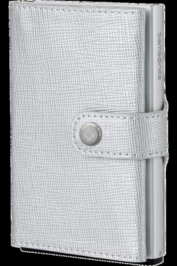 Samsonite Alu Fit 202 - Slide-up Wallet  Silber