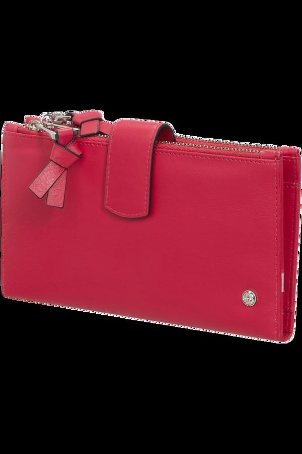 Samsonite Dame Jolie Slg 333 - L F W+DBL Zipper  Cherry Red
