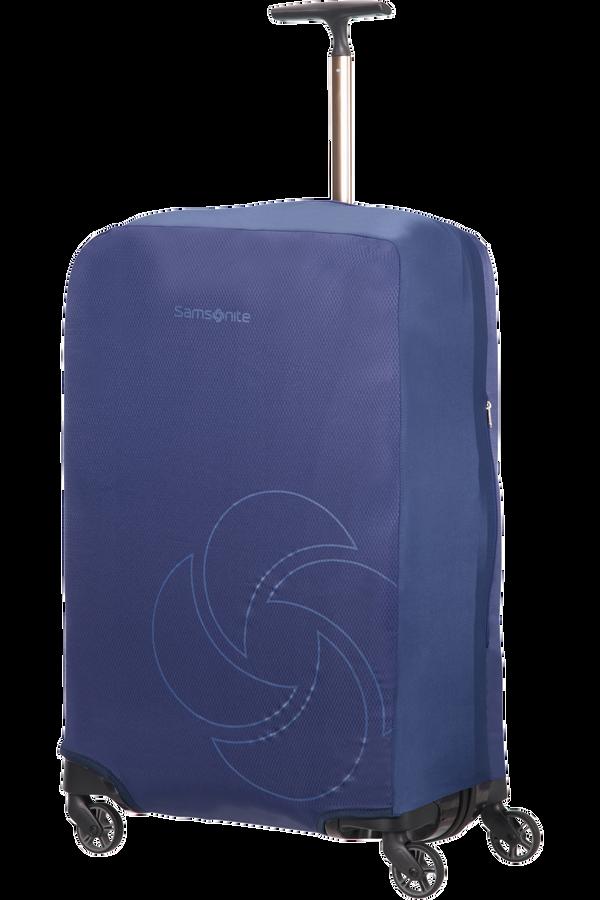Samsonite Global Ta Foldable Luggage Cover M Midnight Blue