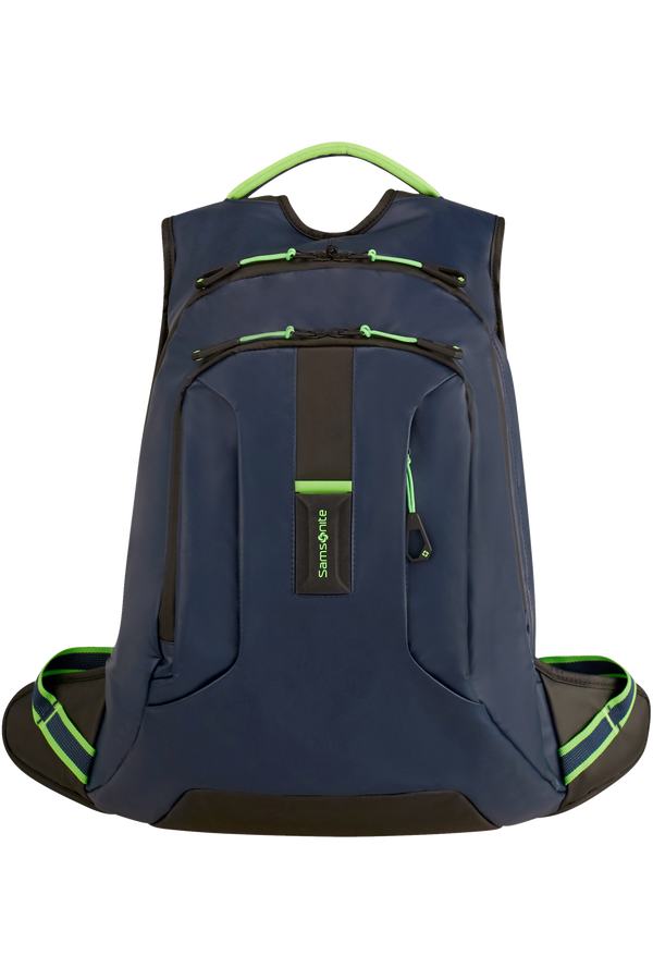 Samsonite Paradiver Light Laptop Backpack L  Night Blue/Fluo Green