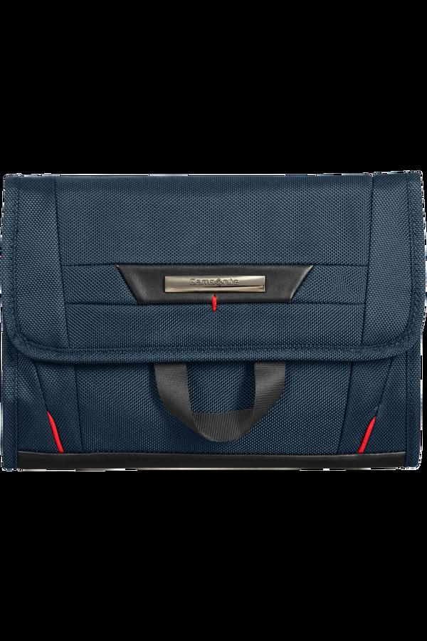 Samsonite Pro-Dlx 5 C. Cases Hanging Toiletry Bag  Oxford Blue