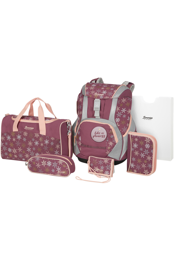 Samsonite Sammies Ergofit Set 2.0  Snowflake Fairy Tale