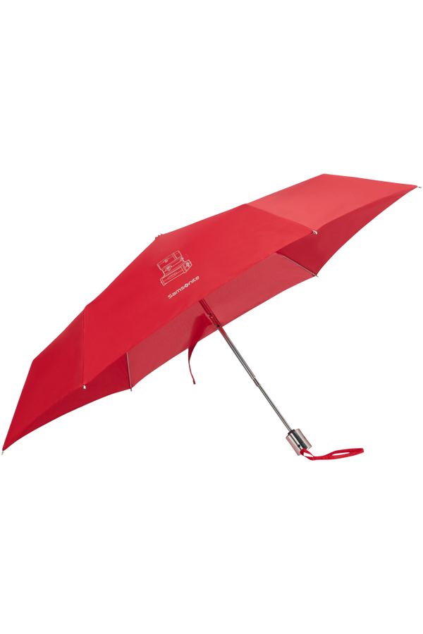 Samsonite Karissa Umbrellas 3 Sect. Auto O/C Slim  Formula Red