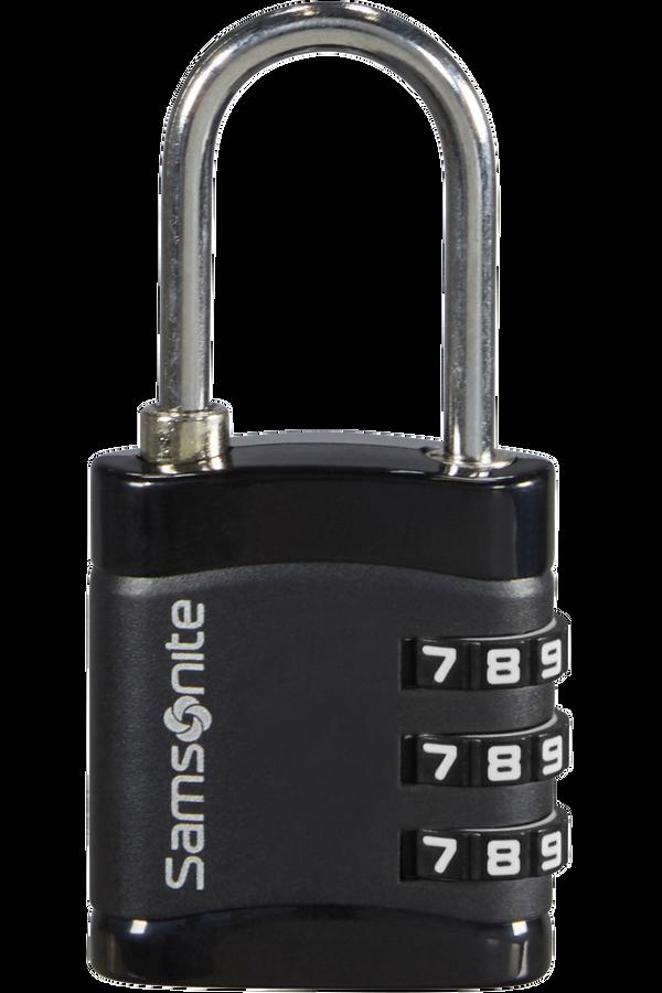 Samsonite Global Ta Combilock 3 dial light Schwarz