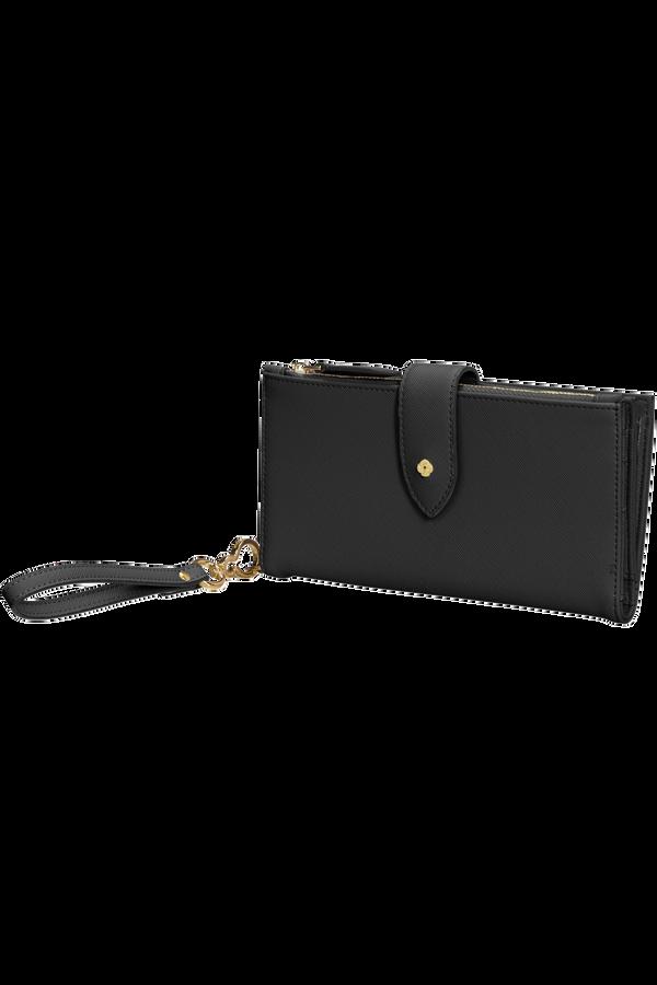 Samsonite Wavy Slg 339 - L W 14CC+Phone Pocket  Schwarz