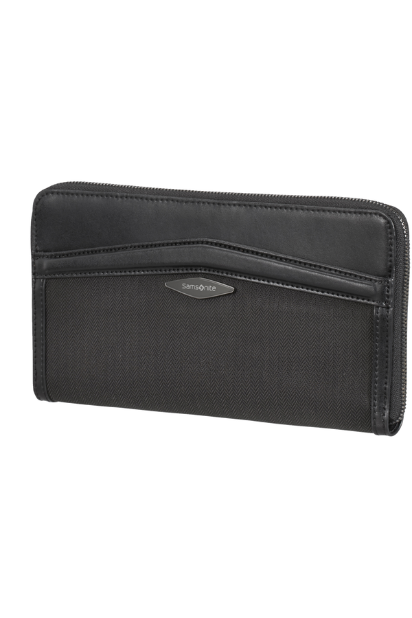 Samsonite Selar Travel Wallet  Schwarz