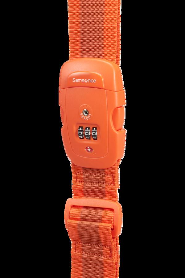 Samsonite Global Ta Luggage Strap/TSA Lock Orange