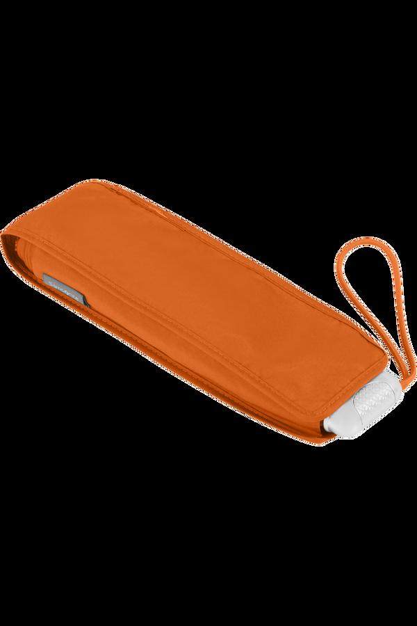 Samsonite Alu Drop S 3 Sect. Manual Flat  Flame Orange