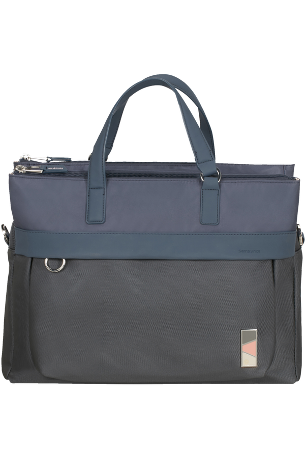 Samsonite Pow-Her Bailhandle 2 comp  14.1'inch Cloudy Blue