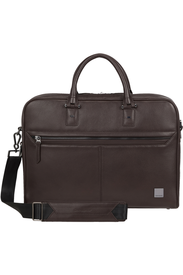 Samsonite Senzil Bailhandle 1C 15.6'  Dark Brown