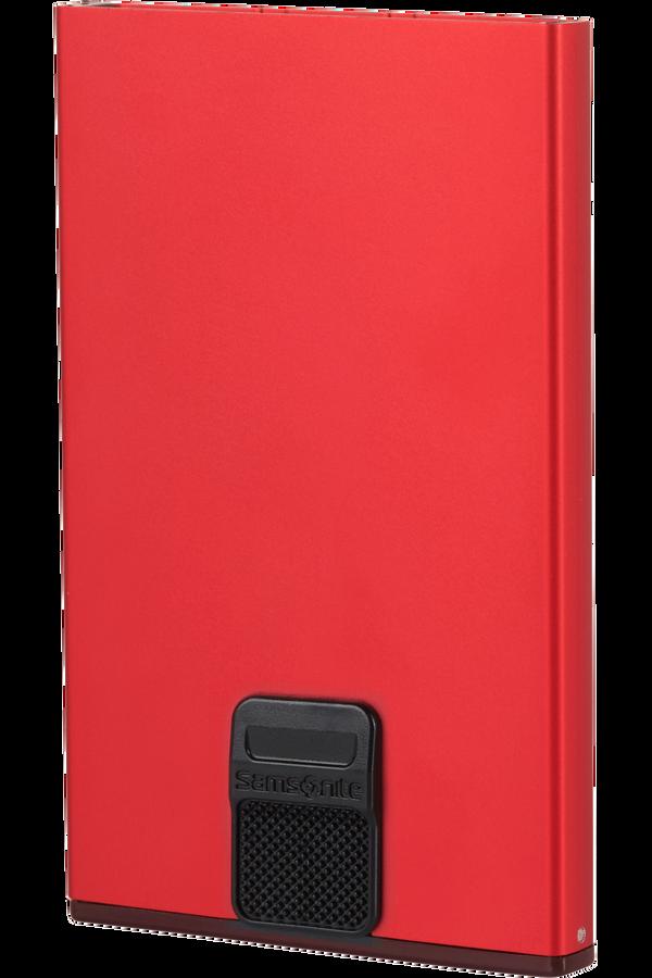 Samsonite Alu Fit 201 - Slide-up Case  Rot