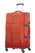 4Mation Reisetasche mit Rollen 77cm Red/Grey