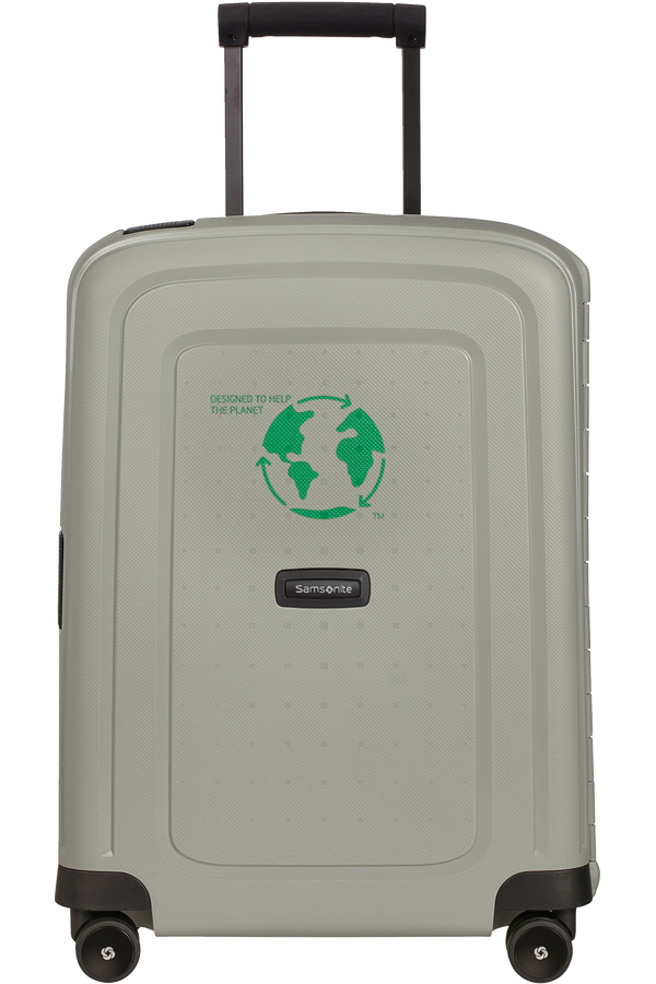 Samsonite S'cure Eco Spinner Post CONS-S2994 55cm  Green Grey