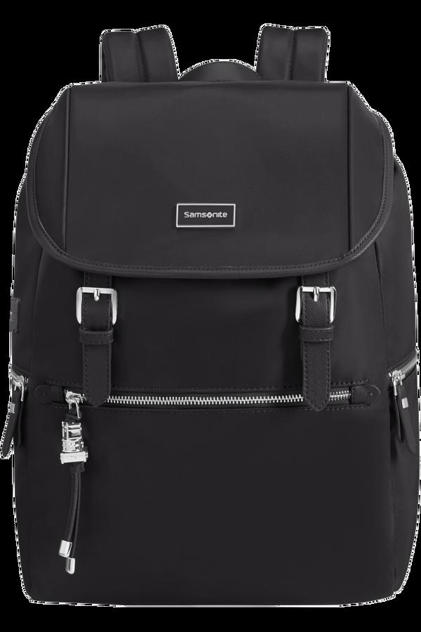 Samsonite Karissa Biz Backpack 14.1'+Flap W/Usb  Schwarz