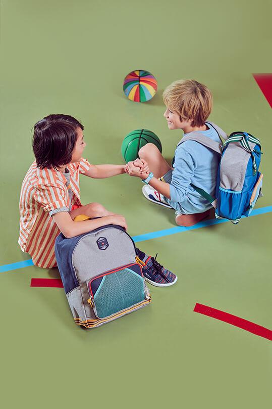 Retro-Stil für trendige Kids