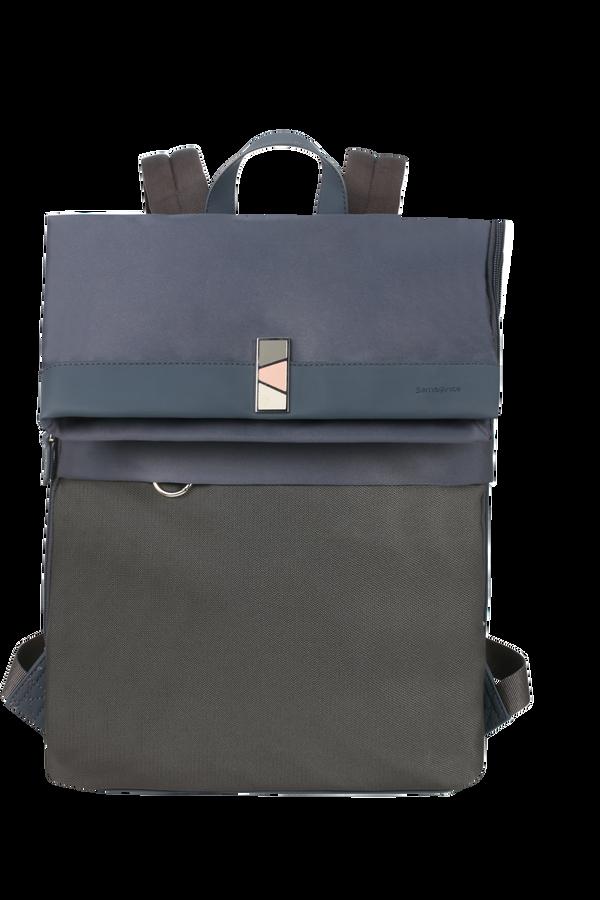 Samsonite Pow-Her Backpack + Flap  14.1'inch Cloudy Blue