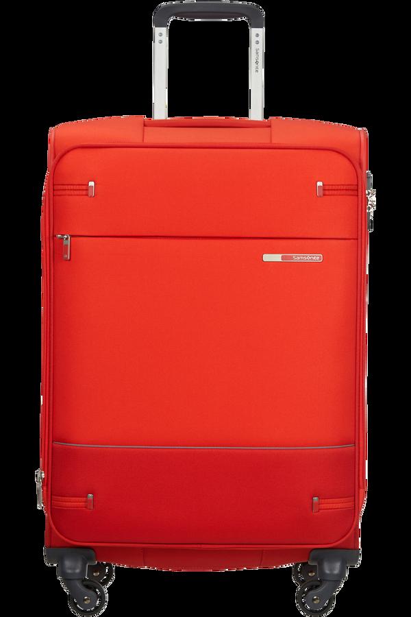 Samsonite Base Boost Spinner Expandable 66cm  Fluo Red
