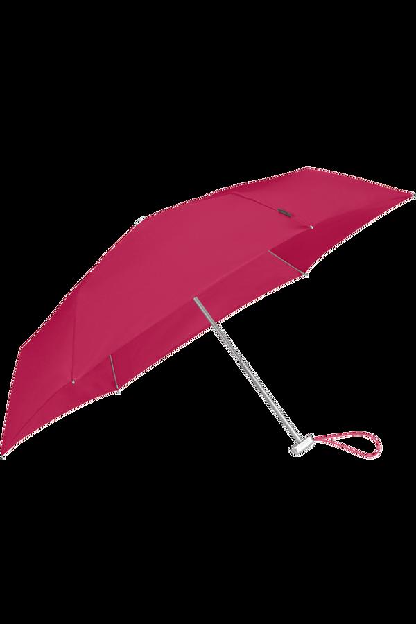 Samsonite Alu Drop S 3 Sect. Manual Flat  Raspberry Pink