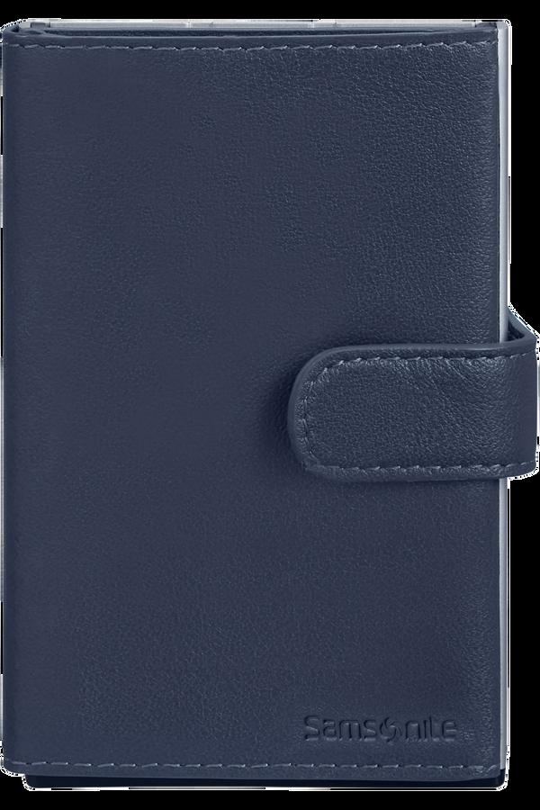 Samsonite Alu Fit 202 - Slide-up Wallet  Blau