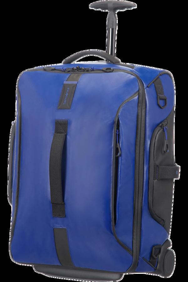 Samsonite Paradiver Light Reisetasche mit Rollen 55cm Rucksack Blau