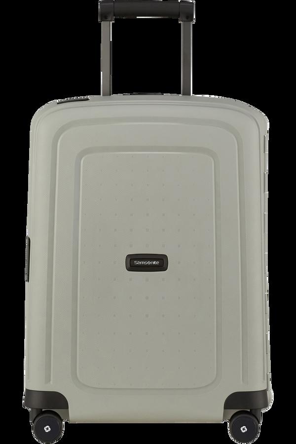 Samsonite S'cure Eco Spinner Post Consumer 55cm Green Grey
