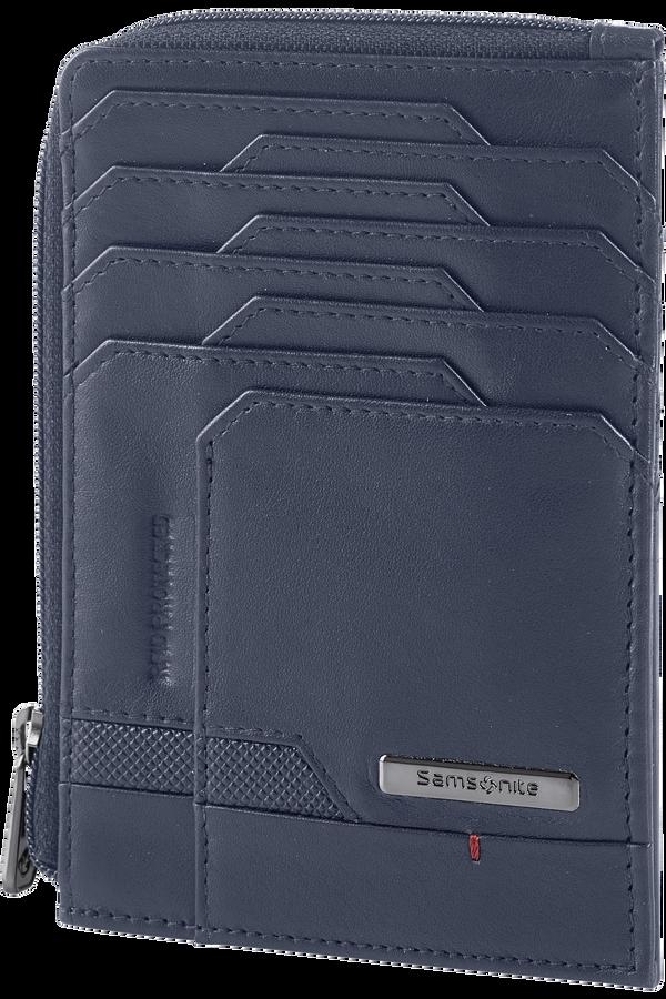 Samsonite Pro-Dlx 5 Slg 727-All in One Wallet Zip  Oxford Blau