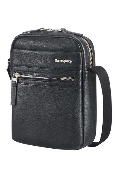 Hip-Class Lth Crossover Bag S Schwarz