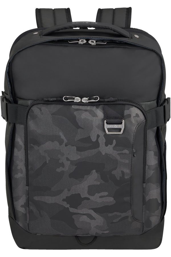 Samsonite Midtown Laptop Backpack Expandable L 15.6inch Camo Grey