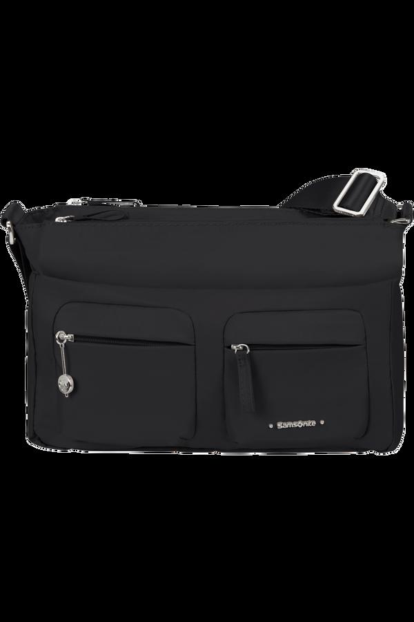 Samsonite Move 3.0 Horiz Shoulder Bag + Flap  Schwarz