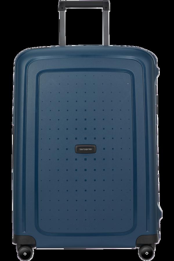 Samsonite S'cure Eco Spinner Post Consumer 69cm  Navy Blue