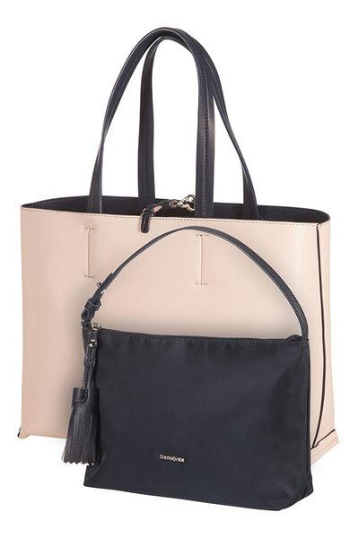 2Ice Shopping Bag Dark Navy/Light Pink