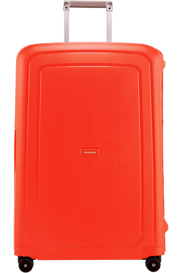 Samsonite S'Cure Spinner 75cm  Fluo Red Capri