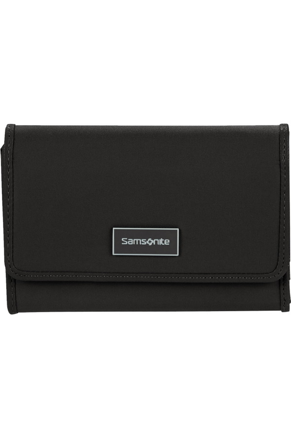 Samsonite Karissa Slg Wallet 12CC+ZIP EXT M  Schwarz