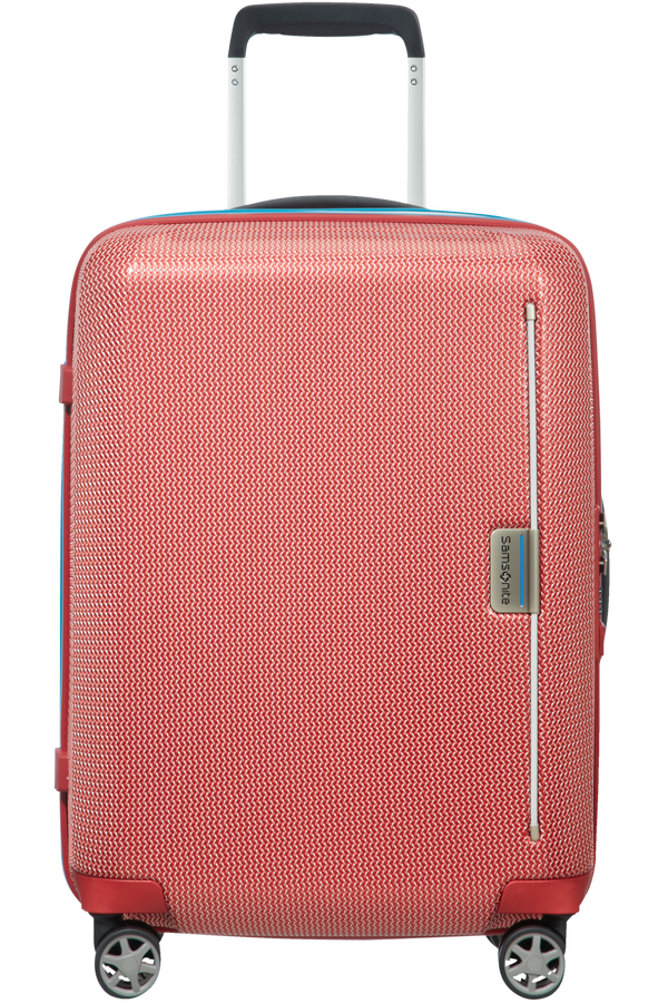 Samsonite Mixmesh Spinner 55cm  Red/Pacific Blue