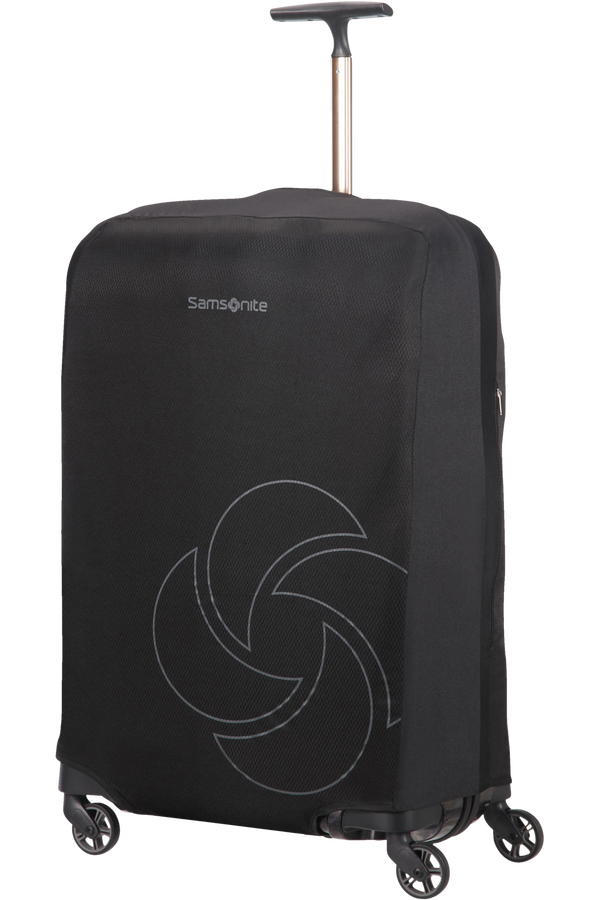 Samsonite Global Ta Foldable Luggage Cover M/L Schwarz