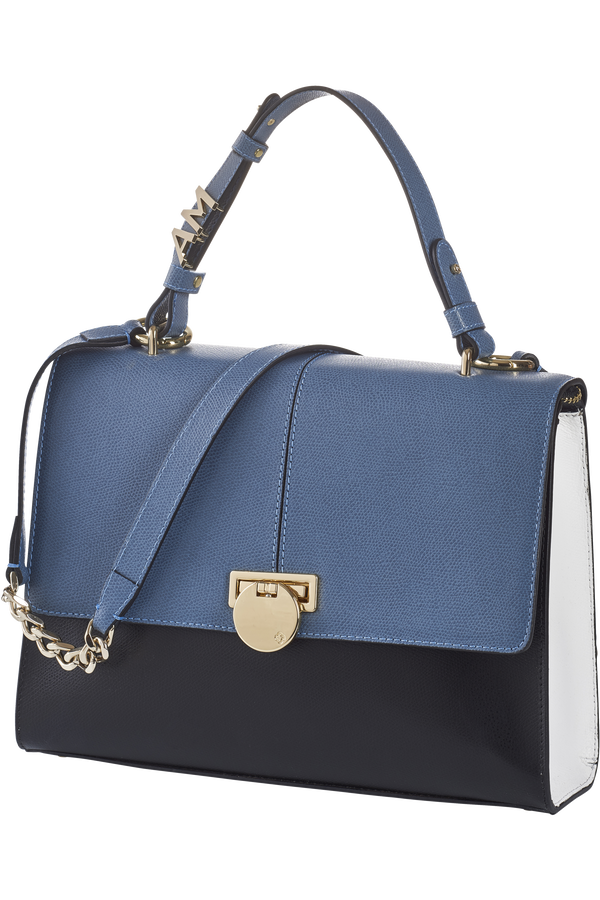 Samsonite Yasmine Shoulder bag M  Dusty Blue/Diamond White/Black